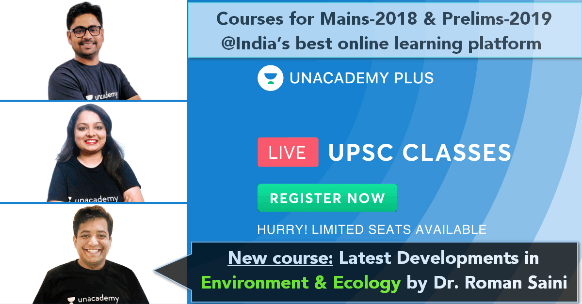 unacademy courses for Mains-2018