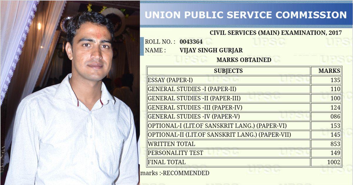 Vijay Singh Gurjar