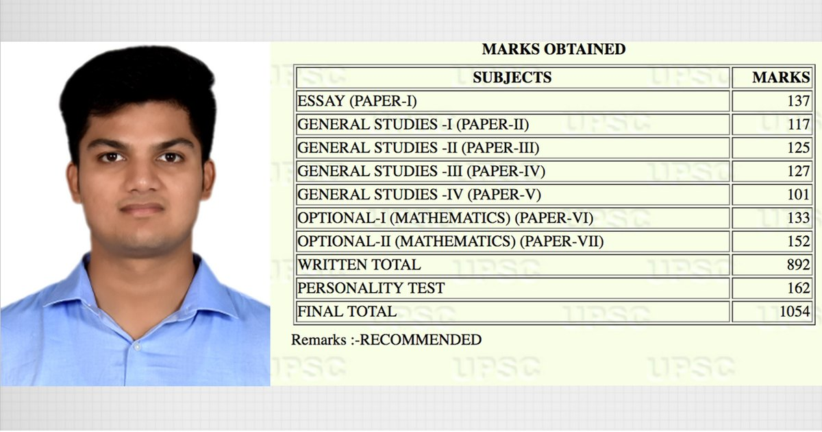 UPSC Rank #86: Prateek Jain- Maths Optional, BITS Pilani, Mech