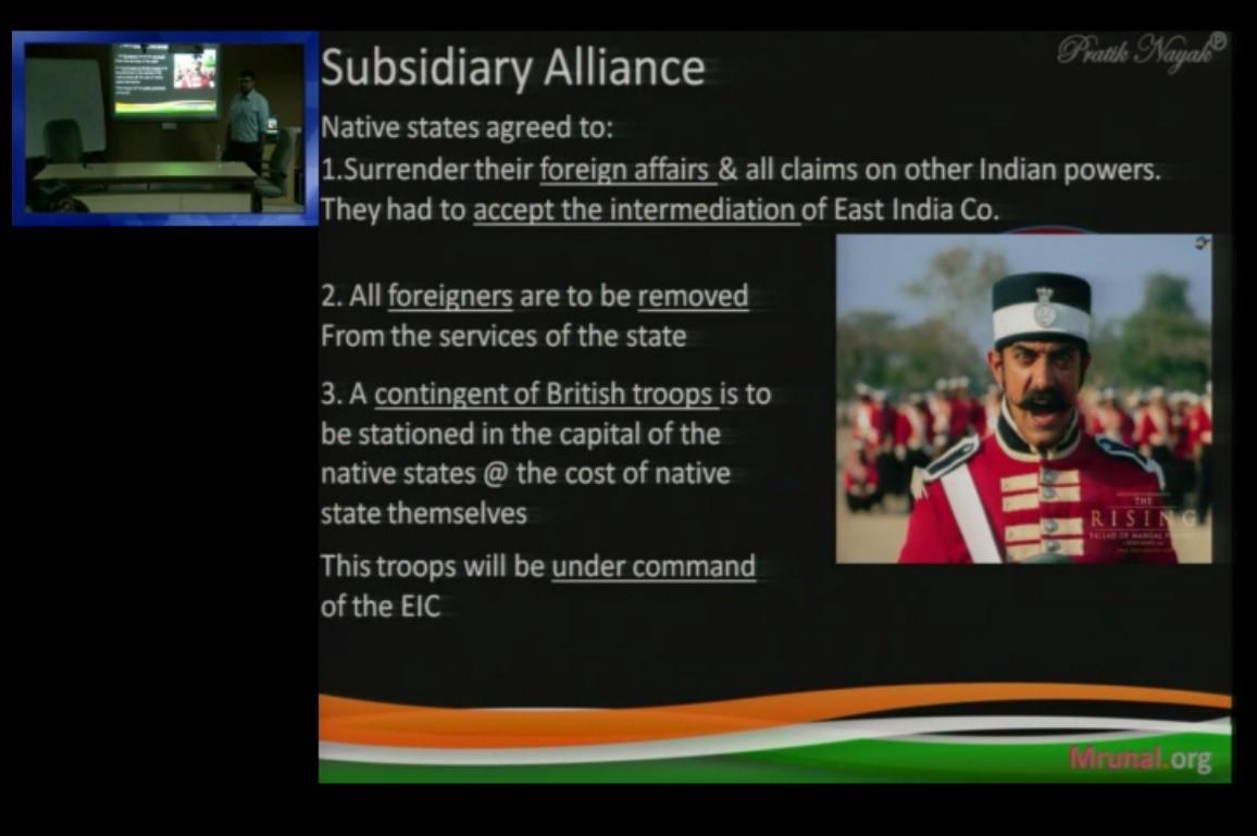 UPSC Prelim-2018 History answerkey Subsidiary alliance