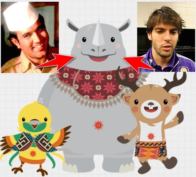 Asian Games Mascots KAKA