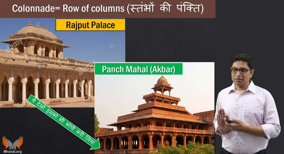 Mughal Architecture Colonnades