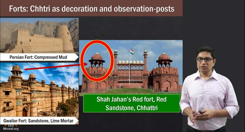 Mughal Architecture Red Fort