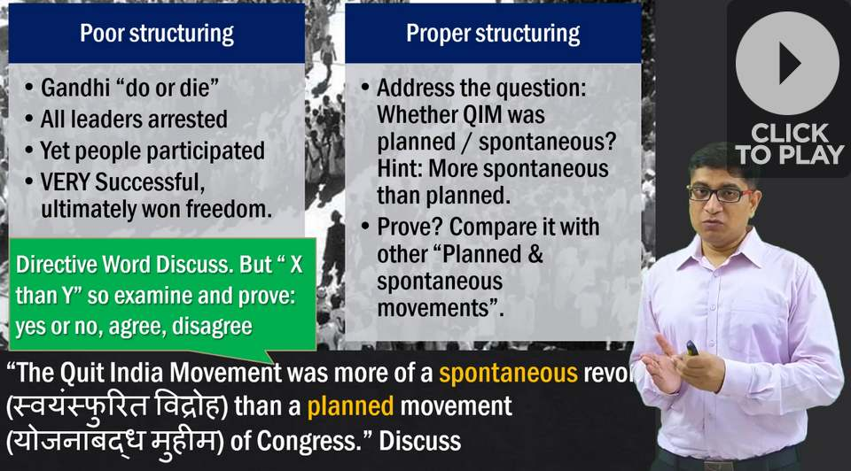 UPSC: Quit India Movement