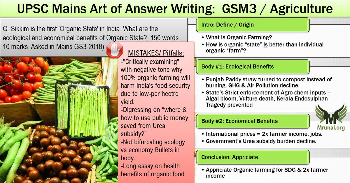 Organic Farming ecological and economical benefits