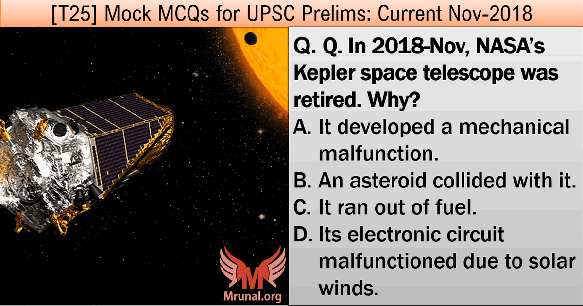 NASA Kepler Mission UPSC Current Affairs