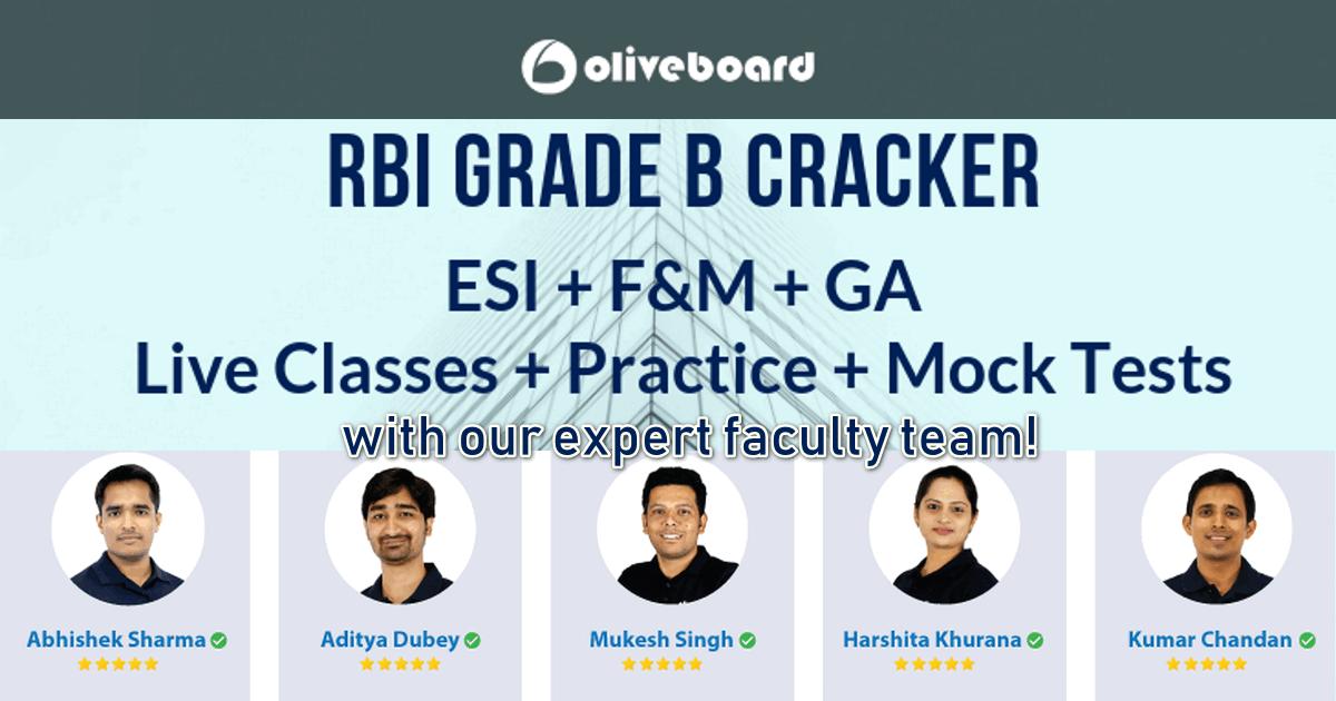Rbi grade b exam