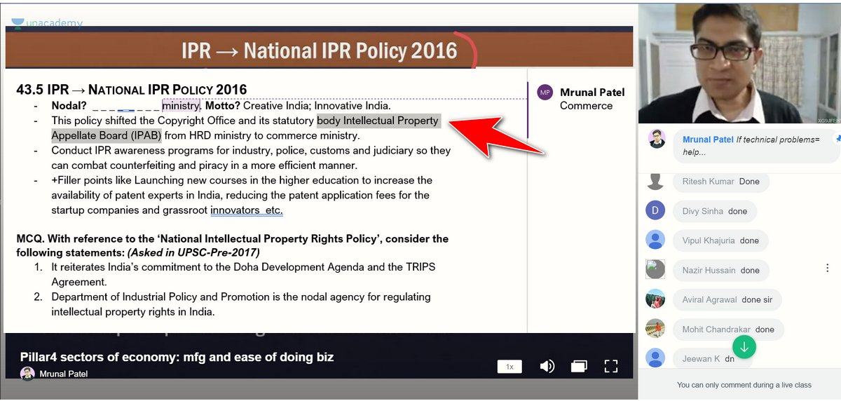 UPSC Prelims Economy Mrunal
