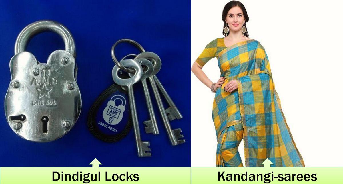 Kandangi sarees GI Status India