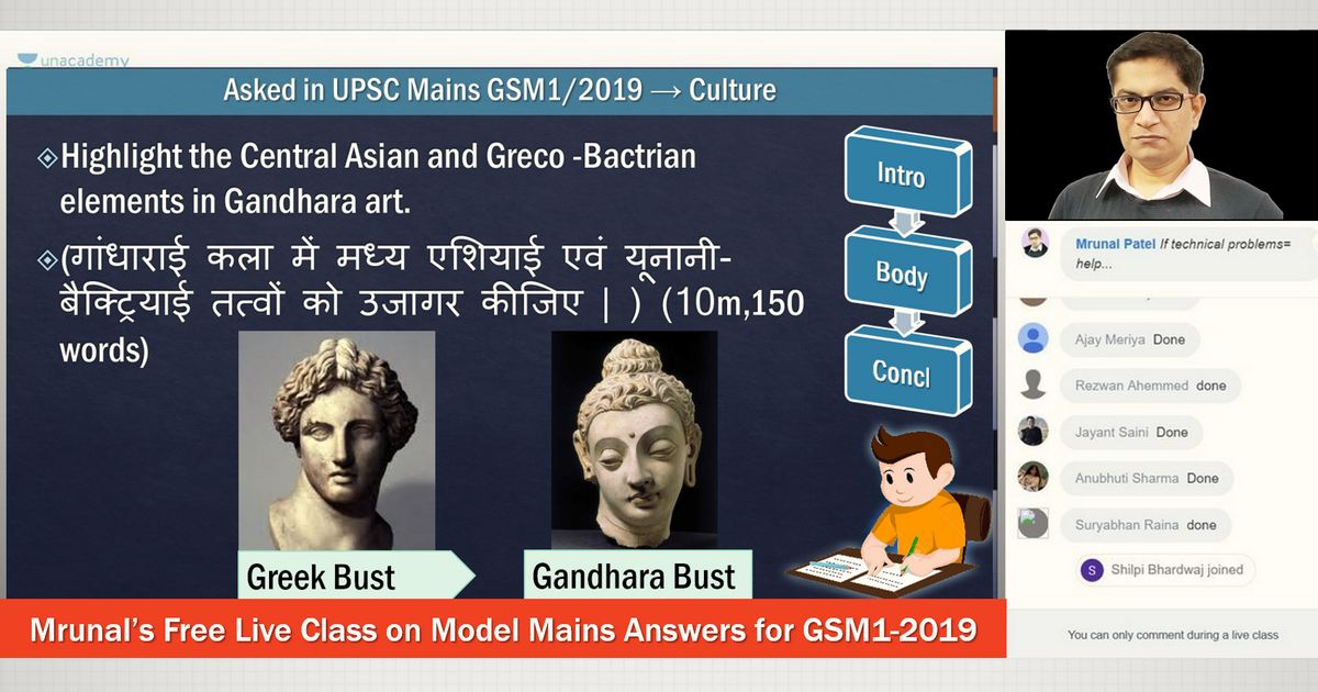 Model History Answers for UPSC Mains