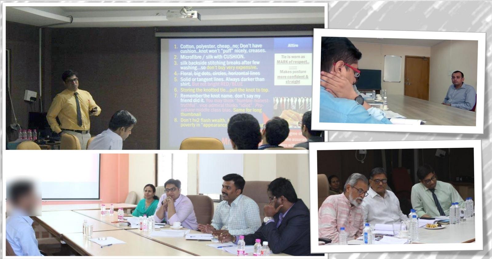 Mrunal conducting UPSC mock interviews