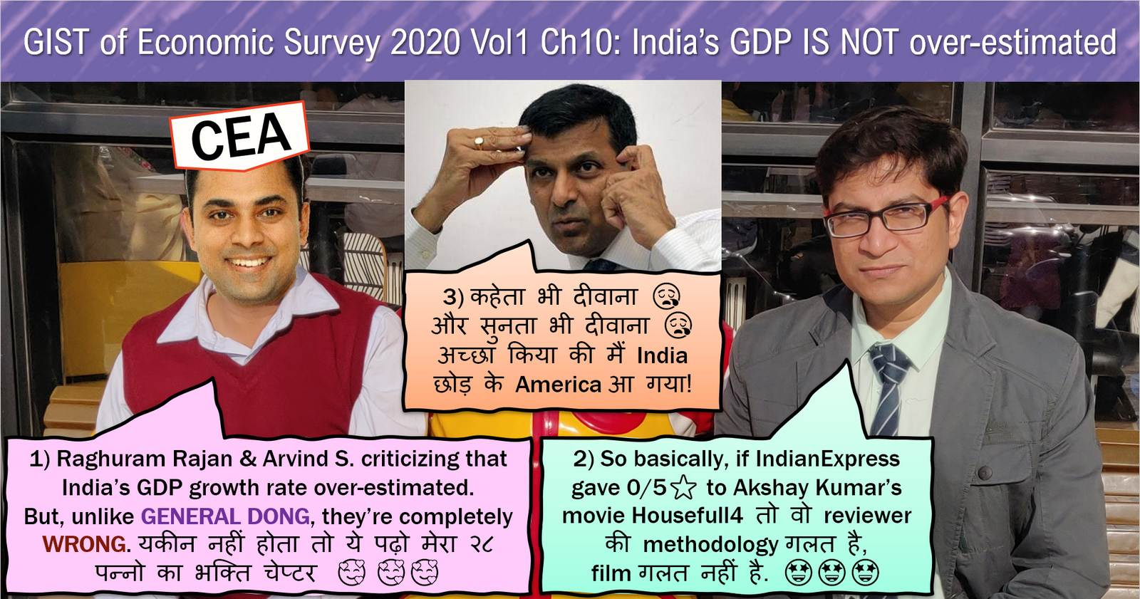 Is India's GDP overstated? summary of Economic Survey 2019-20 chapter 10 by Mrunal