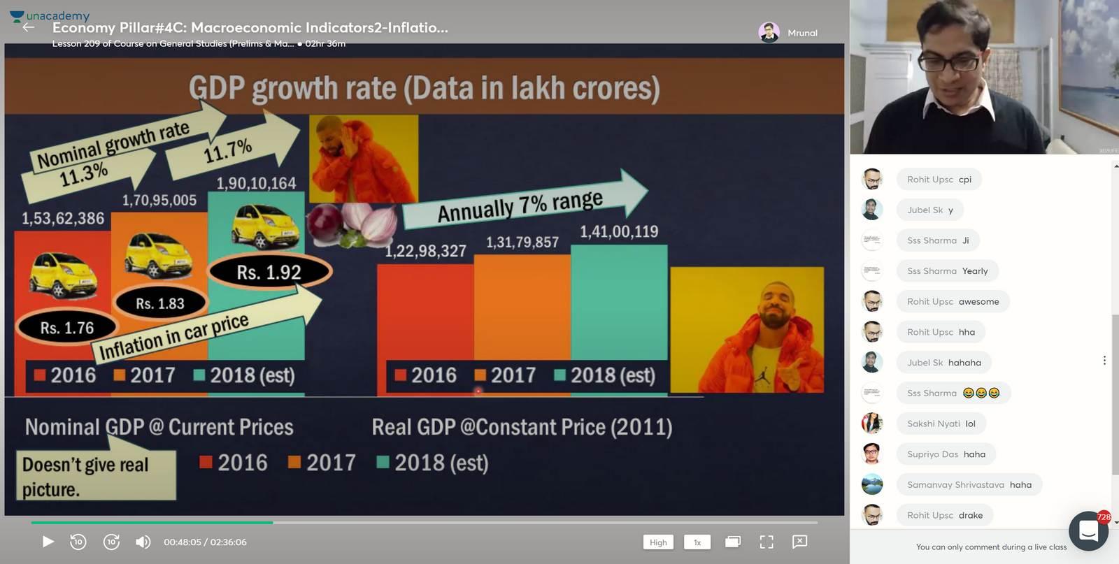 What is GDP Base year and deflator? Mrunal