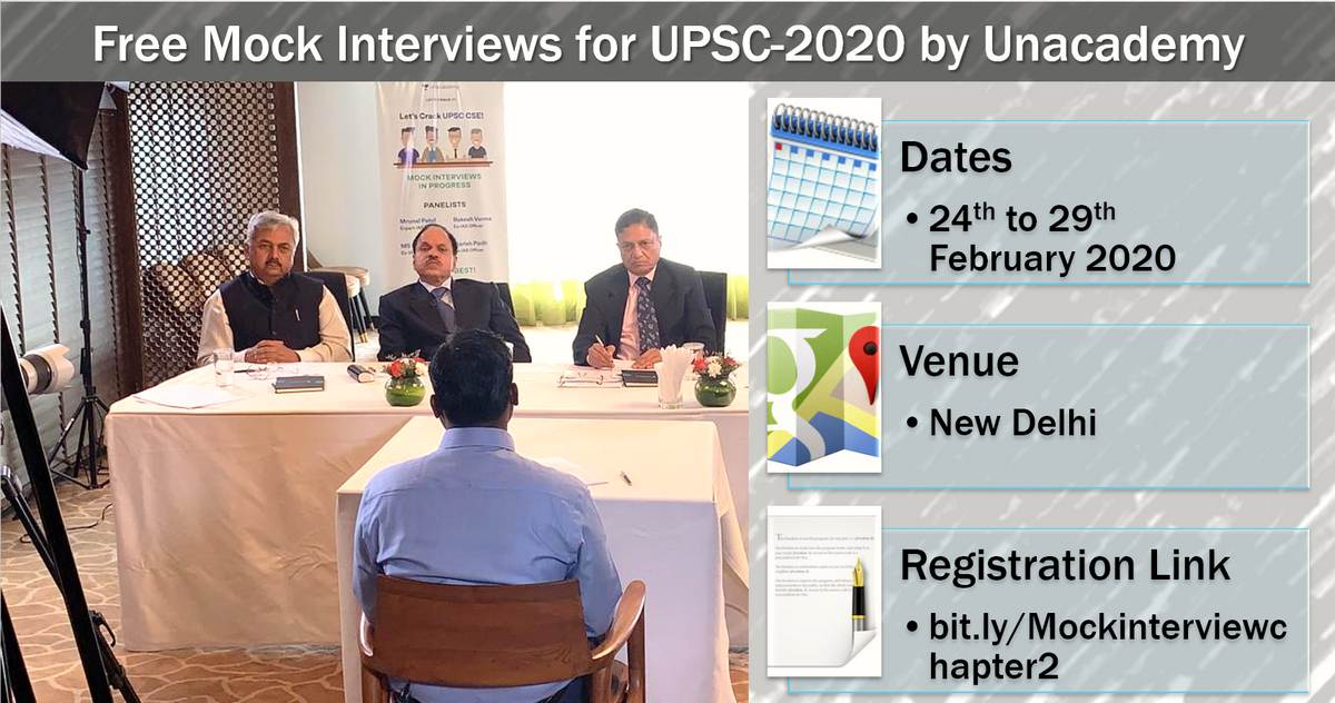 UPSC mock interview unacademy