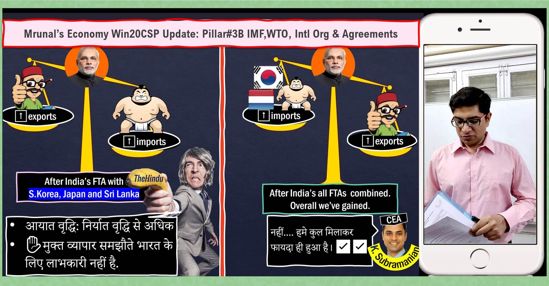 [Win20CSP] Mrunal's Free Economy Update Lecture#8: IMF,WTO,RCEP,D10 & More Updates in Pillar3B