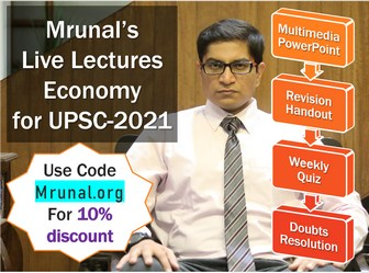 Unacademy Plus Mrunal Economy for Prelims and Mains UPSC!
