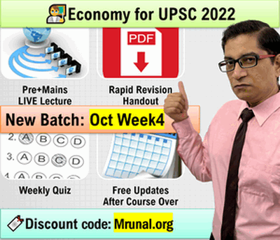 click me to join Mrunal's new course on economy